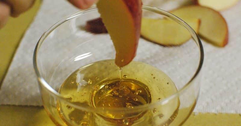 ocet jabłkowy z miodem