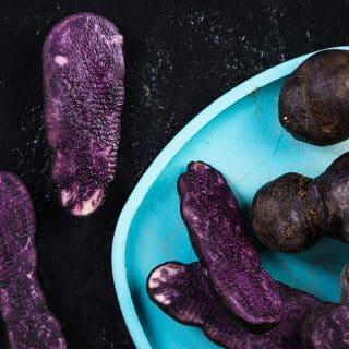 fioletowe ziemniaki - odchudzanie